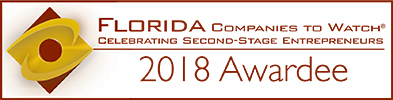 Grow Florida's Companies to Watch award winner in 2018