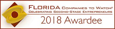 Grow Florida's Companies to Watch award winner in 2018