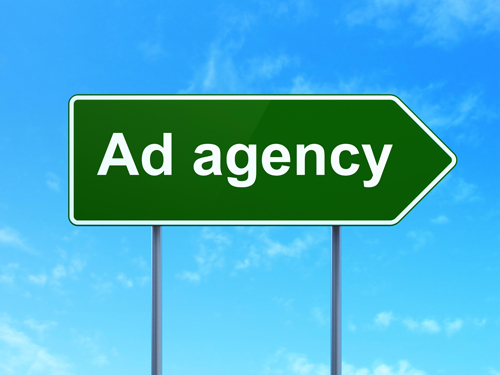 Street sign that says Ad Agency