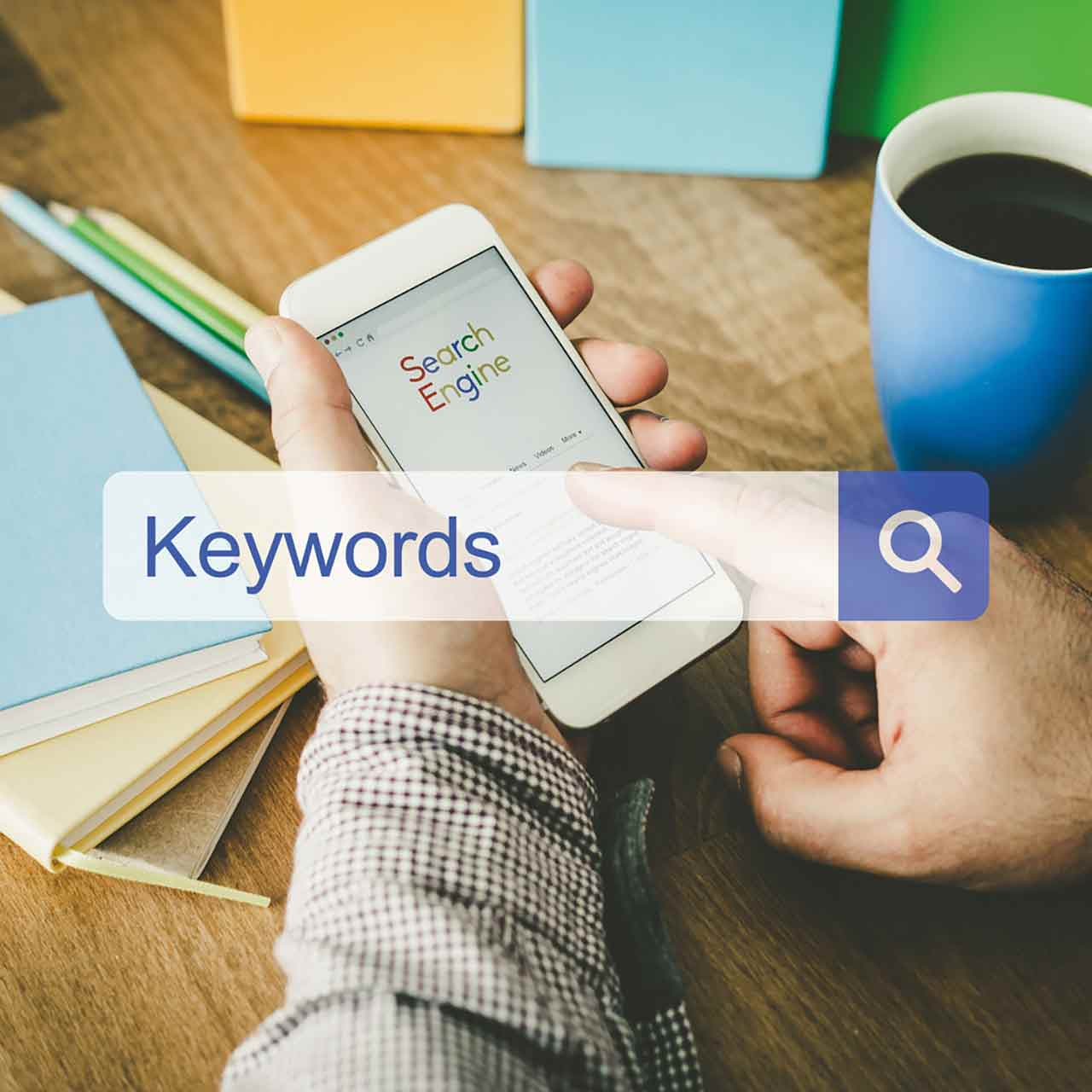 Keyword research with Google