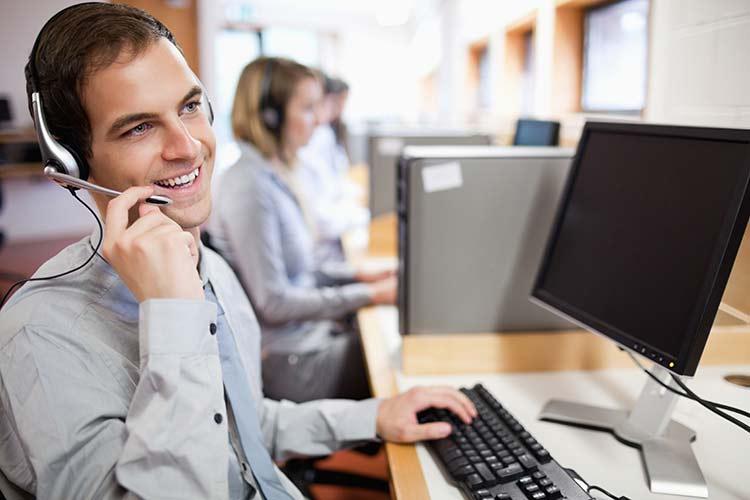 AAA Customer Service Representative on the phone