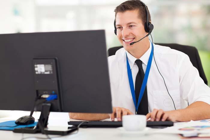 Customer Service Rep happy to help