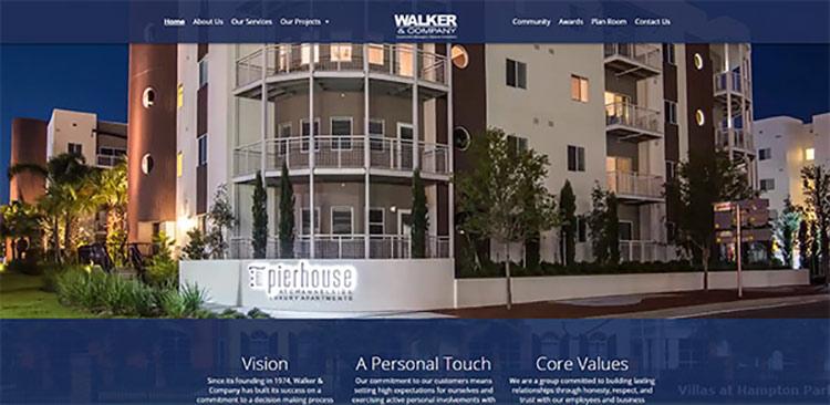 Walker Construction Homepage